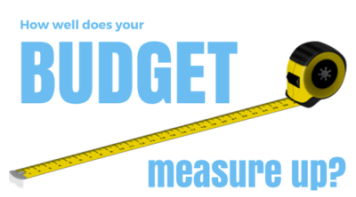How does your budget measure up?