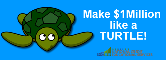 How To Make A Million Dollars Like A Turtle (Or: The Story of Compound Interest)