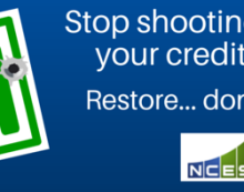 Don't shoot holes in your credit report