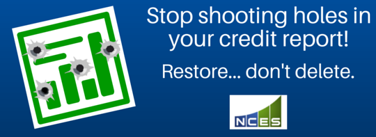 Credit Restoration – What's the big deal?