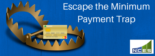 Escape the Minimum Payment Trap on your credit cards