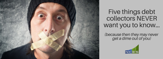 5 Facts Debt Collectors Do Not Want You to Know