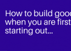 How to build credit when you are first starting out