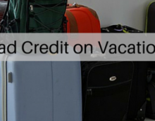 Bad credit on vacation