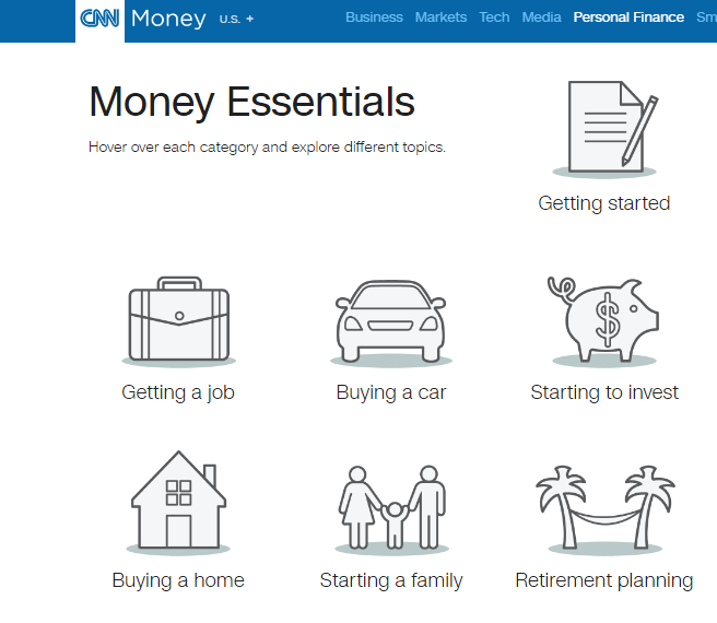 CNN Money educational resources