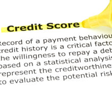 key credit score terms NCES credit restoration